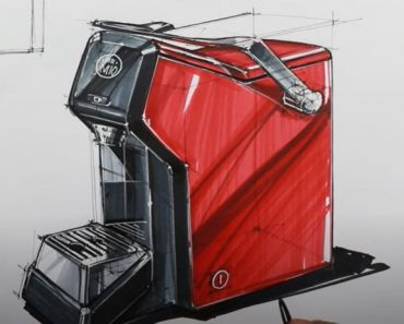 How to Draw a Coffee Maker Step by Step