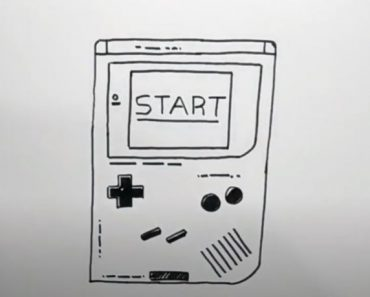 How to Draw a Gameboy Step by Step