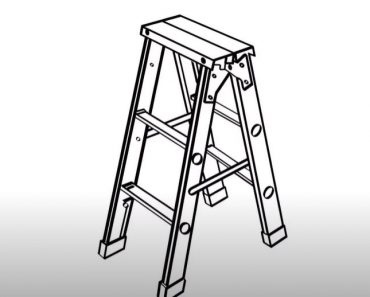 How to Draw a Ladder Step by Step