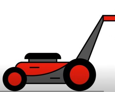 How to Draw a Lawn Mower Step by Step