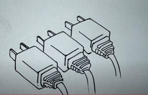 How to Draw a Plug Step by Step