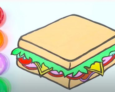 How to Draw a Sandwich Step by Step