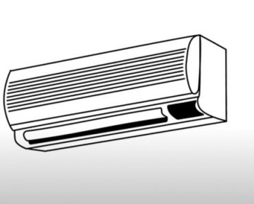How to Draw an Air Conditioner Step by Step