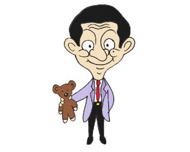 How to draw Mr Bean