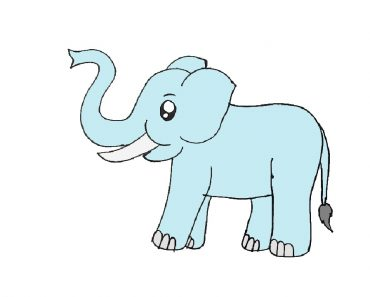Elephant Drawing Step By Step Archives How To Draw Step By Step