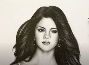 Selena Gomez Drawing with Pencil - How to draw a Beautiful Girl