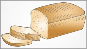 How to Draw a Bread Step by Step