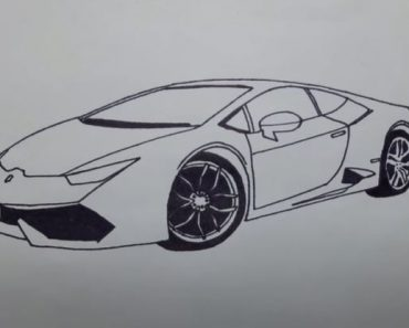 How to Draw a Lamborghini Huracan Step by Step