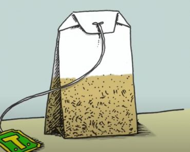 How to Draw a Tea Bag Step by Step