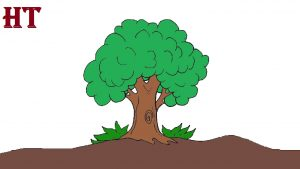 Tree Drawing easy for Beginners