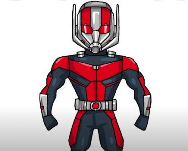 How to Draw Ant Man Step by Step