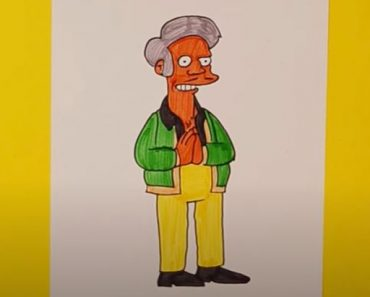 How to Draw Apu from the Simpsons Step by Step