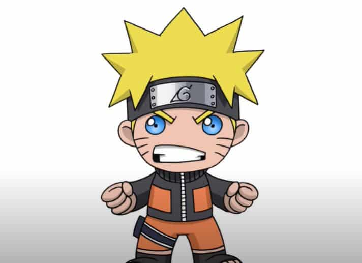 How To Draw Chibi Naruto Step By Step