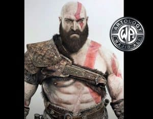 How to Draw Kratos Step by Step