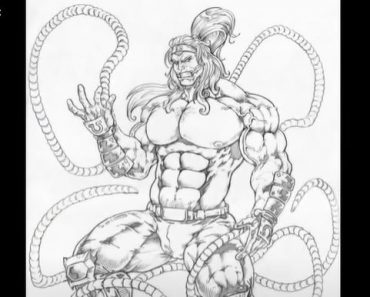 How to Draw Omega Red