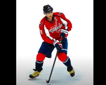 How to Draw a Hockey Player Step by Step - Alexander Ovechkin Drawing