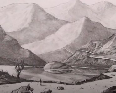 How to Draw a Landscape using Atmospheric Perspective