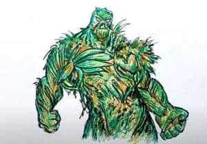 swamp thing Drawing