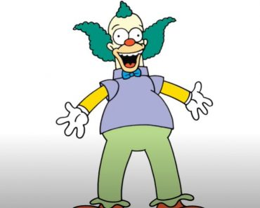 How to Draw Krusty the Clown Step by Step