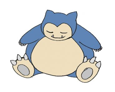 How To Draw Snorlax