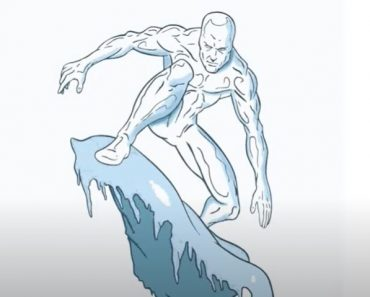 How to Draw Iceman Step by Step