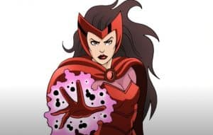 How to Draw Scarlet Witch Step by Step