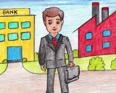 How to Draw a Businessman Step by Step