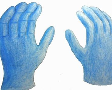 How to Draw a Glove easy Step by Step