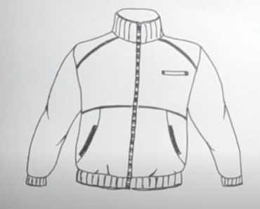 How to Draw a Jacket Step by Step