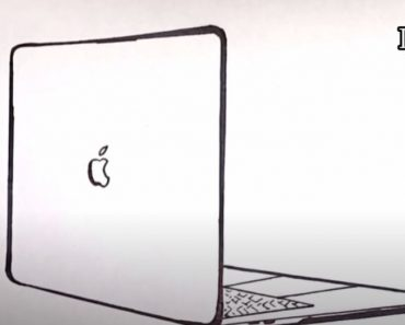 How to Draw a Macbook Easy