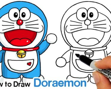 How to draw Doraemon Step by Step