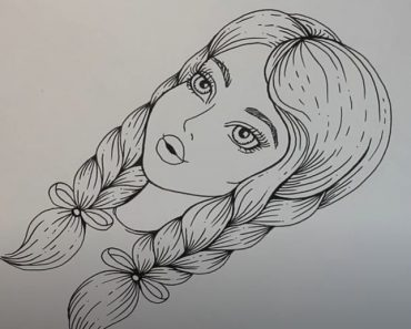 Tumblr Girl Drawing Easy