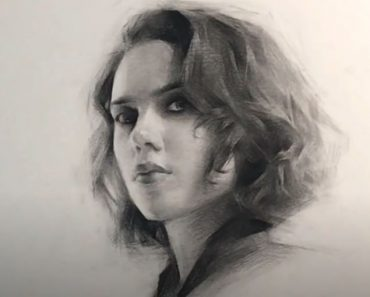Black Widow Drawing