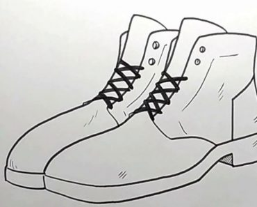 How To Draw Boots Easy