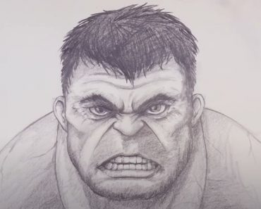 How To Draw The Hulk with Pencil