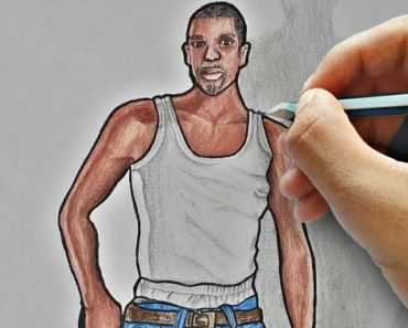 How to Draw Carl Johnson Step by Step