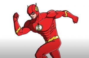 How to Draw Flash Step by Step