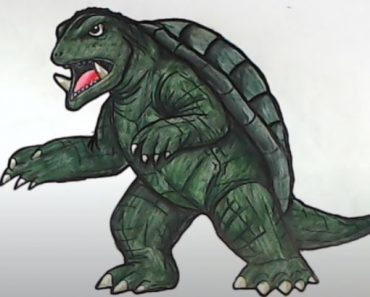 How to Draw Gamera easy