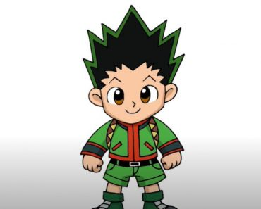 How to Draw Gon From Hunter X Hunter