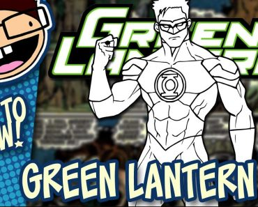 How to Draw Green Lantern Step by Step
