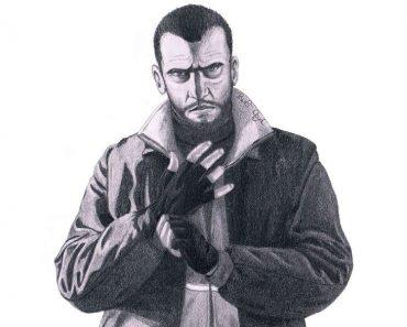 How to Draw Niko Bellic Step by Step