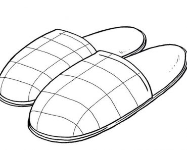 How to Draw Slippers Step by Step