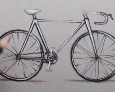 How to Draw a Bike with pencil Step by Step