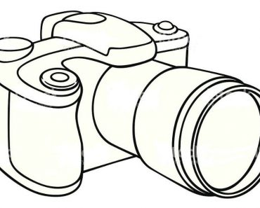 How to Draw a Camera Step by Step