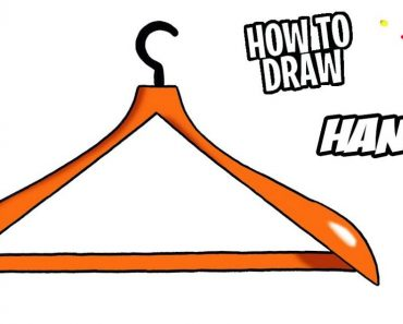 How to Draw a Hanger Step by Step