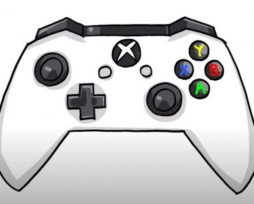 How to Draw a Xbox Controller Step by Step