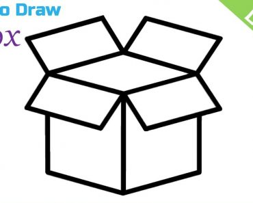 How to Draw an Open Box Step by Step