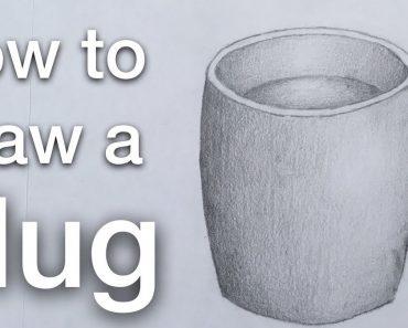How to draw a Mug Step by Step