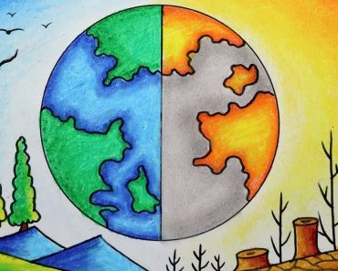 World Environment Day Drawing easy Step by Step