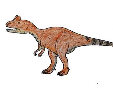 Allosaurus Drawing
